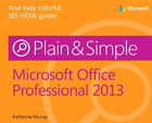Microsoft Office 2013 Plain & Simple  (UK IMPORT)  BOOK NEW