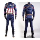 Avengers Captain America:Civil War Steve Rogers Cosplay Costume Outfit