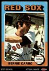 1975 Topps #379 Bernie Carbo Red Sox GOOD