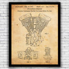 Harley Davidson Evo Engine patent - wall art print (w/ optional frame) $19.9 USD on eBay