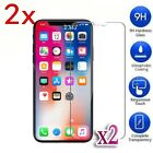 2X Tempered Glass LCD Screen Protector for Apple iPhone 8 7 Plus 6 SE 5 S X #DAC