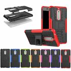 For Samsung Galaxy A6 2018 Dual Layer Armor Stand Shockproof Phone Case Cover