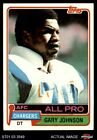 1981 Topps #370 Gary Johnson Chargers EX $0.99 USD on eBay