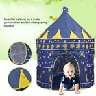 Portable Pop Up Kids Play Tent Girls Princesses Castle Fun House Pink Indoor HE