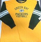 GREEN BAY PACKERS MENS  LONG SLEEVE TEAM NFL SHIRT NEW W TAGS 3X OR 4X