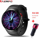 LEMFO LES1 Smart Watch Phone 3G SIM 1/16GB WIFI GPS Smartwatch For Android iOS