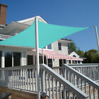 Square Rectangle Turquoise Curve Sun Shade Sail Home Garden Pool Patio Canopy