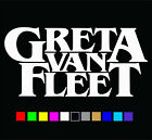 Greta Van Fleet Logo Vinyl Decal Die Cut Sticker