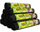Dog Poo Bags Extra Large Double Thick Puppy Poop Tie Handles Doggy Waste Bags