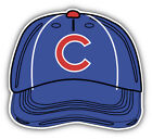 Chicago Cubs MLB Baseball Cap Logo Car Bumper Sticker Decal - 3'', 5'' or 6'' on Ebay