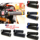 "Motorcycle Hand Grips Rubber Gel Hand Grips Fit For Sports Bikes 7/8"" Handlebar $7.5 USD on eBay"