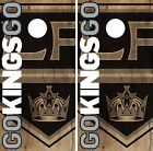 Los Angeles Kings Cornhole Skin Wrap NHL Hockey Vintage Design Vinyl Decal DR106 $39.99 USD on eBay
