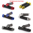 "Motorcycle Hand Grips Rubber Gel 7/8""Handle Bar For Honda Suzuki Kawasaki Yamaha $9.9 USD on eBay"
