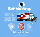 BUBBLE WRAP , Small 3/16'', Medium 5/16, 12' + 24' American Bubble Boy