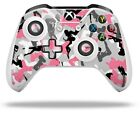 Sexy Girl Silhouette Camo Pink Skin for XBOX One S / X Controller