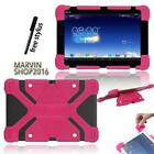 """Fit Various Asus 10.1"""" tablet - Shockproof Silicone Stand Cover Case + Stylus"""
