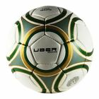 Uber Soccer Regulation Size and Weight Indoor Futsal Soccer Ball - Navy Orange
