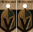 Vegas Golden Knights Cornhole Skin Wrap NHL Hockey Vintage Design Vinyl DR117 $39.99 USD on eBay
