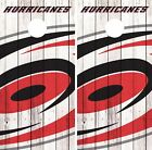 Carolina Hurricanes Cornhole Skin Wrap NHL Hockey Vintage Art Decor Vinyl DR123 $39.99 USD on eBay