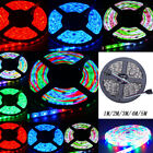 1M 2M 3M 4M 5M Light Strip 60LED/M SMD5050 RGB Waterproof Bright Lamp DC12V