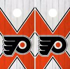 Philadelphia Flyers Cornhole Skin Wrap NHL Hockey Vintage Art Decor Vinyl DR147 $39.99 USD on eBay
