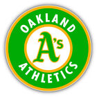 Oakland Athletics MLB Baseball Combo Logo Car Bumper Sticker - 9'', 12'' or 14'' on Ebay