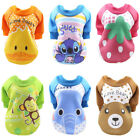 6PCS Lot Wholesale Dog Clothes Small Medium Large Pet Puppy Hoodie Basic Sweater