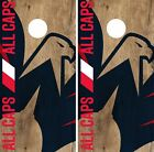 Washington Capitals Cornhole Skin Wrap NHL Hockey Custom Team Logo Vinyl DR159 $39.99 USD on eBay