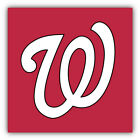 Washington Nationals MLB Baseball Symbol Car Bumper Sticker - 9'', 12'' or 14'' on Ebay