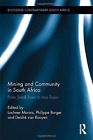 Mining And Community In South Afric  (UK IMPORT)  BOOKH NEW