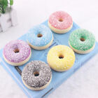 Squishy Shredded Coconut Donut Bread Food Key/Bag/Cell Phone Cute Straps Decor