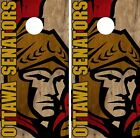 Ottawa Senators Cornhole Skin Wrap NHL Hockey Team Vintage Design Vinyl DR186 $39.99 USD on eBay
