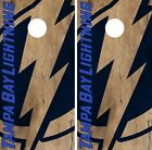Tampa Bay Lightning Cornhole Skin Wrap NHL Hockey Vintage Decor Vinyl DR191 $39.99 USD on eBay