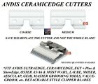 Andis CeramicEdge Detachable Blade CERAMIC CUTTER*Fit Oster A5,Many Wahl Clipper