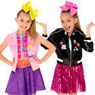 Jojo Siwa Girls Fancy Dress Youtube Celebrity Diva Music Idol Child Kid Costumes