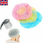 Kyпить Elastic Waterproof Shower Cap Hat Reusable Bath Head Hair Cover Salon Shower Cap на еВаy.соm