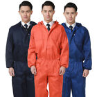 Workwear Coverall Overall Tuff Work Garage Uniform Boilersuit Hooded Jumpsuit