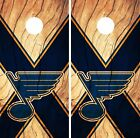 St. Louis Blues Cornhole Skin Wrap NHL Hockey Wood Design Vinyl Decal DR223 $39.99 USD on eBay