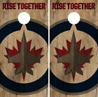 Winnipeg Jets Cornhole Skin Wrap NHL Hockey Vintage Vinyl Decal Sticker DR230 $39.99 USD on eBay