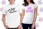 Just married Mr & Mrs T-Shirt Set Husband Wife Couple matching his hers dress