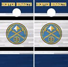 Denver Nuggets Cornhole Skin Wrap NBA Basketball Team Colors Vinyl Decal DR254 on eBay