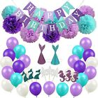 1Set Glitter Party Banners Paper Garland Flags One First 1st