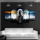 Home Decor Canvas Print Painting Wall Art Angel with Wings 5pcs