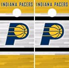Indiana Pacers Cornhole Skin Wrap NBA Basketball Team Colors Vinyl Decal DR285 on eBay
