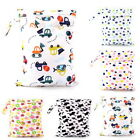 Waterproof Kids Wet Bag 30x40cm for Nappies Clothes Swimmers Baby Clothes