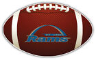 St. Louis Rams NFL Logo Ball Car Bumper Sticker Decal  -  3'',5'',6''or 8'' on eBay