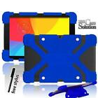 Shockproof Silicone Stand Cover Case Fit Various LG G Pad inch Tablet + Stylus