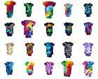 Tie Dye Baby Gerber Onesie Child Of Mine Tye Die Short Sleeve 100% Cotton
