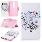 For Nokia 6.1 5.1 3.1 PU Leather Magnetic Flip Stand Card Slot Wallet Case Cover