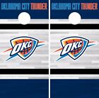 Oklahoma City Thunder Cornhole Skin Wrap NBA Team Colors Art Decor Vinyl  DR311 on eBay